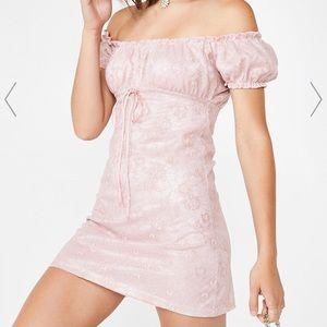 Motel Rocks Pink Janette Dress
